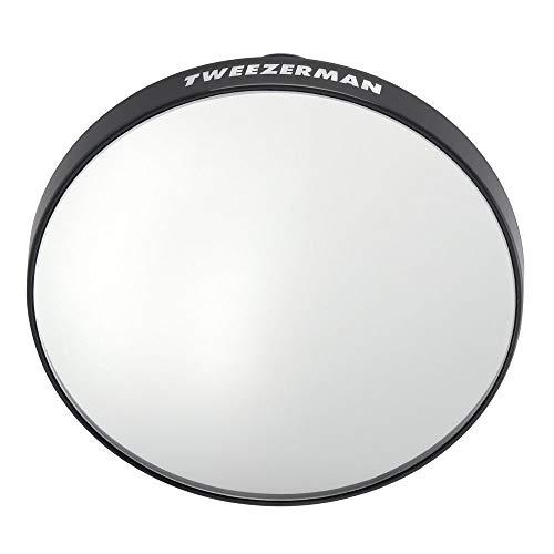 Tweezerman Tweezermate Espelho de ampliação 12x, preto