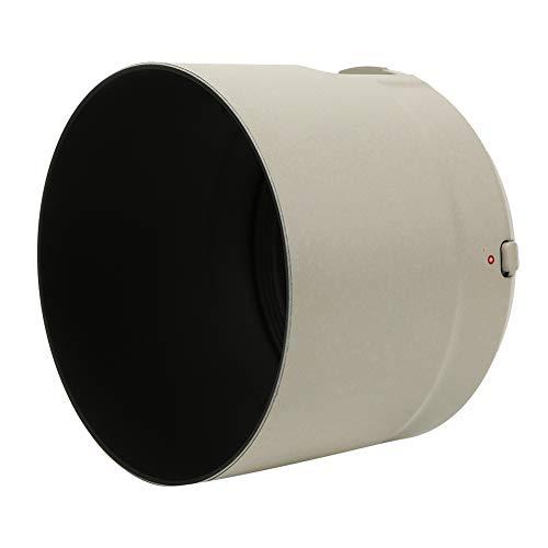 カメラレンズフード、ET-83DキヤノンEF用白色プラスチックレンズフード100-400mm f/4.5-5.6L IS II USM
