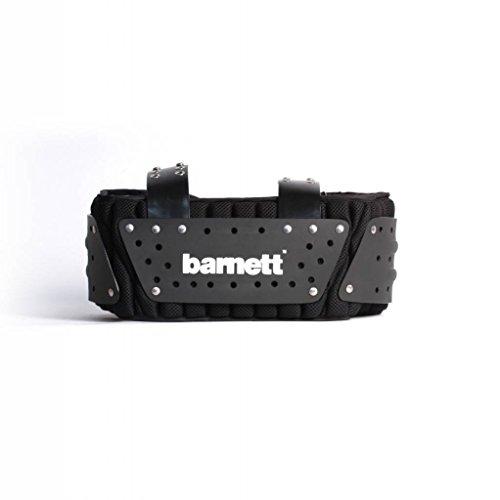 BARNETT MBP-01 American Football Rippen- und Rückenschutz, Farbe schwarz (M)
