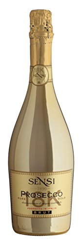 Sensi 18k Prosecco Gold NV Wine 75 cl (Case of 3)