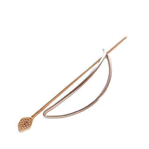 Gilr de simples géométrique creux Out Pique à cheveux bijoux de cheveux Barrette pour femme Cadeau