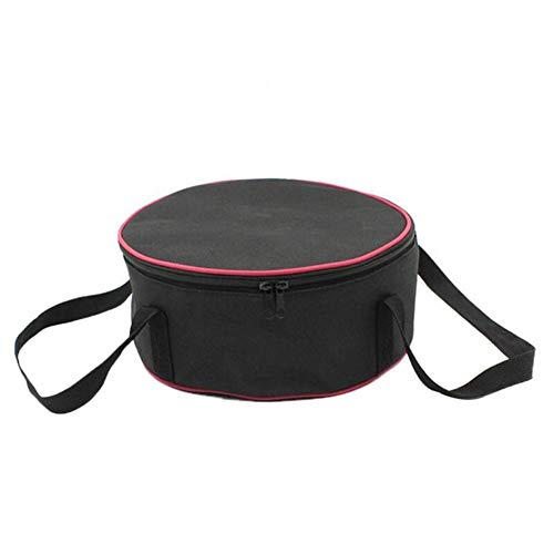 Sac à Dos Pique-Nique Hamper Sac de Pique-Nique Portable Grand Bol Camping en Plein air de Pique-Nique Pan Set Barbecue Ustensiles de Cuisine Ronde Sac de Rangement Pot