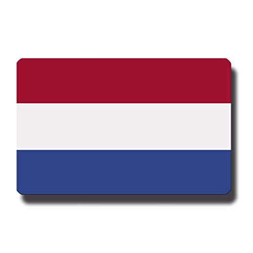 Kühlschrankmagnet Flagge Niederlande - 85x55 mm - Metall Magnet mit Motiv Länderflagge