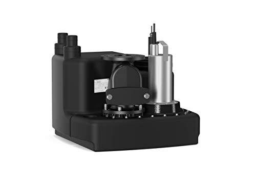 Wilo-DrainLift M 1/8 RV (3400 V, 50 Hz), Abwasserhebeanlage mit Rückflussverhinderer für die Förderung von fäkalienhaltigem Abwasser, max. 35000l/h, max. 0, 9 bar