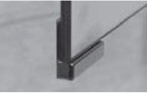 PURIS Zubehör Griffblock für Spiegelschranktür (PZ1125), Chrom,