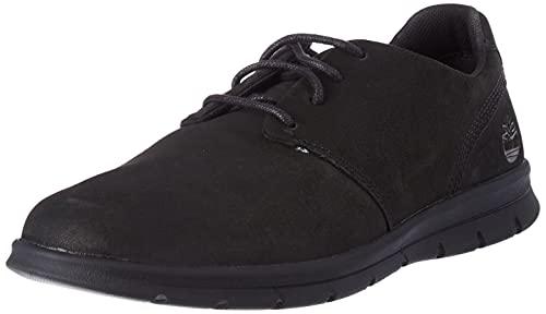 Timberland Herren Graydon Oxford Basic Schuhe, Black Nubuck, 42 EU