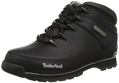 Timberland Euro Sprint Hiker, Stivali Chukka Uomo, Nero (Black Full Grain), 42 EU