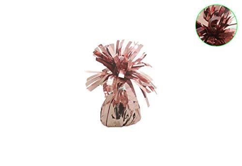 Ballon gewicht voor op tafel rose gold