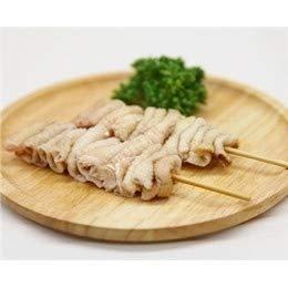 鳥皮串 40g×10本 焼き鳥 国産鶏 (15cm丸串)(pr)(41620)(焼鳥 やきとり)