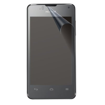 Saxonia Bildschirmschutzfolie für Huawei Ascend Y300 Folie Matt inkl. Mikrofasertuch