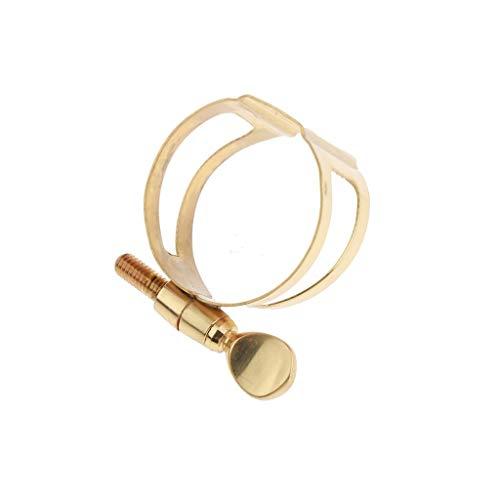 XIAOFANG Alt Saxophon Mundstück Ligature Goldene Fit for Saxophonist Anfänger