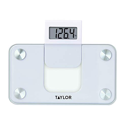 Taylor Precision Products Digital 350LB Capacity Mini Scale/Expandable Read Out/White/Glass