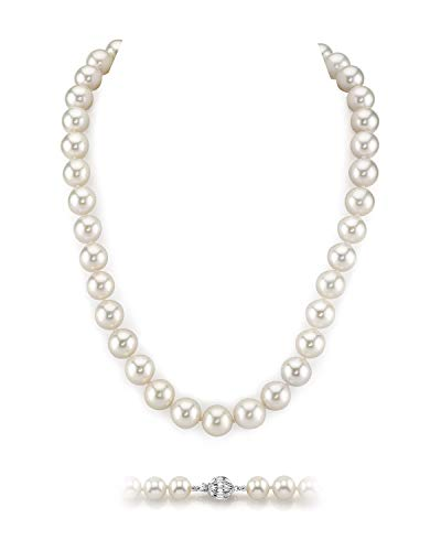 White Freshwater AAA Cultured Pearl Necklace