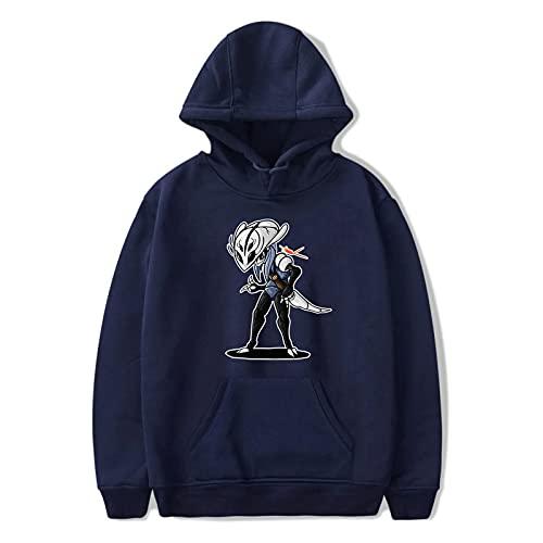 HUANHE Hollow Knight Moda Sudaderas con Capucha Estampadas Mujeres/Hombres Suéter con Capucha De Manga Larga Casual Trendy Streetwear Hoodie