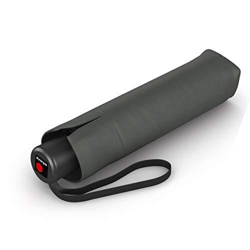 Knirps Taschenschirm A.050 Medium Manual – Kompakt und sturmfest – Stabil – Windproof – Dark Grey