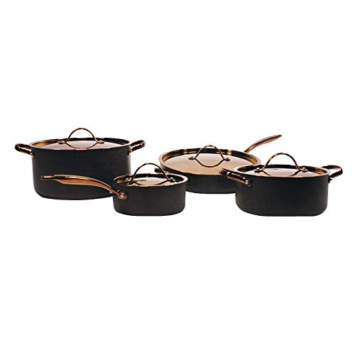 BergHOFF Ouro Black Hard Anodized Chef's Set 8 piece