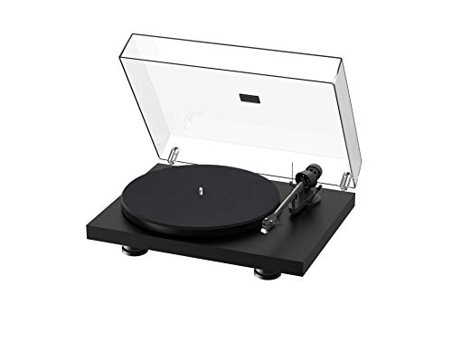 Pro-Ject Debut Carbon EVO, Audiophile Turntable with Carbon Fiber tonearm, Electronic Speed...