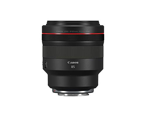 Canon RF 85mm F1.2 L USM Lens, Black