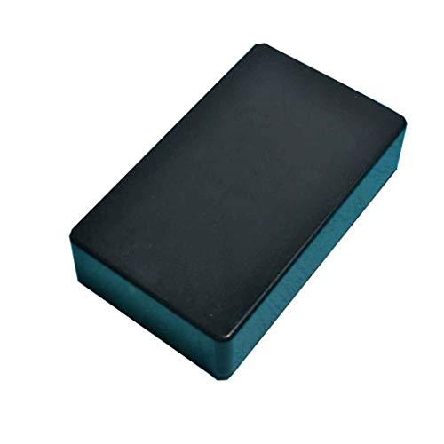 Yosoo 5/pcs 100/x 60/x 25/mm Negro Cubierta de pl/ástico proyecto electr/ónico caja instrumento caso DIY energ/ía Junction Box