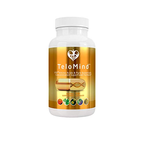 TeloMind - Genuine YTE Amino Acids and Pure Botanicals, Concentrated Superfood Formula