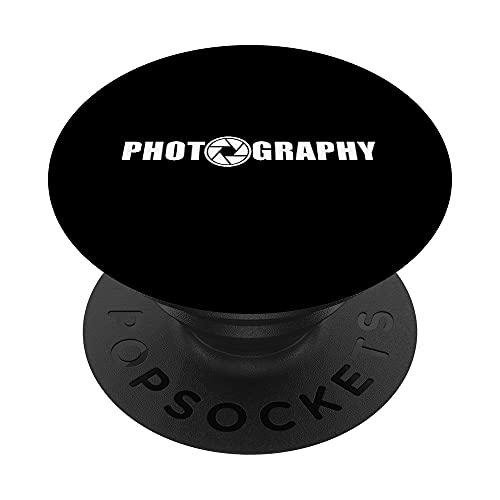 Fotografía - Fotógrafo - Logotipo de la cámara PopSockets PopGrip: Agarre intercambiable para Teléfonos y Tabletas