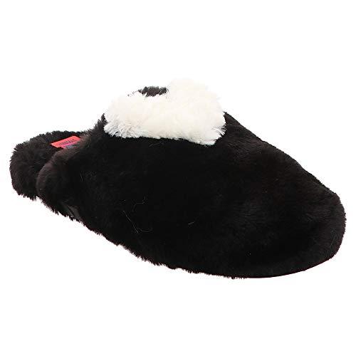 VERBENAS | Pelo | Hausschuh - schwarz | Negro, Farbe:schwarz, Größe:38