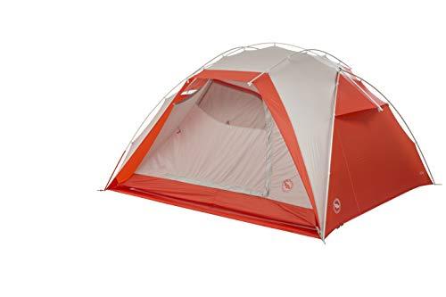 Big Agnes Bird Beak SL3 Superlight Backpacking Tent, 3 Person, Gray/Orange