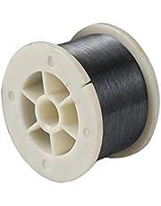 MHUI Alambre De Tungsteno 99,95% Metal Puro Diámetro 0,01-0,04 mm Pureza 99,95% Alta Pureza (Longitud 2 M / 6,56 Pies),0.04mm/2m