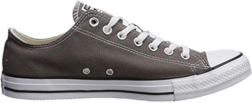 Converse Unisex-Erwachsene Chuck Taylor All Star-Ox Low-Top Sneakers, Grau (Charcoal), 37.5 EU