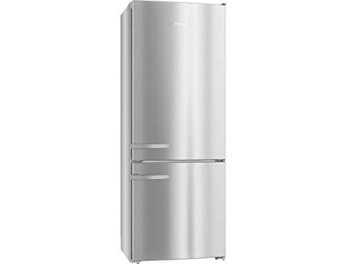 Miele KFN 16947 D ed/cs Independiente 418L A++ Acero inoxidable nevera y congelador - Frigorífico (418 L, SN-T, 14 kg/24h, A++, Compartimiento de zona fresca, Acero inoxidable)