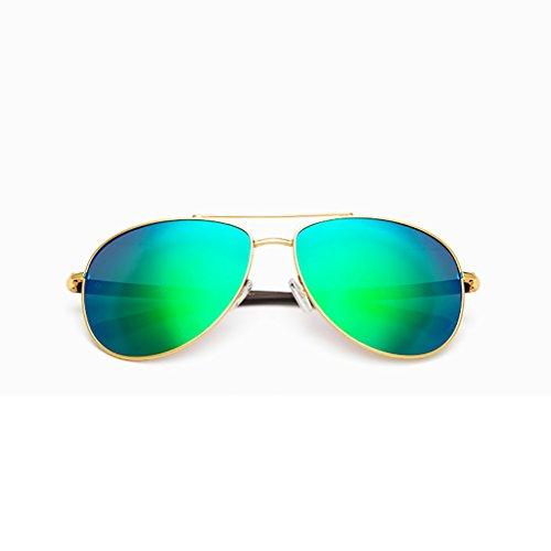 Gxy Zonnebril voor heren, gepolariseerde zonnebrillen, anti-glare driving eyewear, metaal