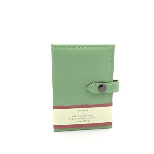 Little Little Book of Earrings - Small Size - GREEN