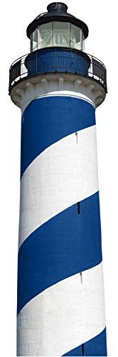 Décoration adhésive Grand format 3XL 803926 Autocollant Adhésif, Polyvinyle, Bleu Et Blanc, 50 x 0,1 x 171,5 cm