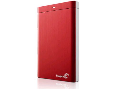 Seagate Backup Plus 1TB Portable External Hard Drive USB 3.0 (Red)(STBU1000103)