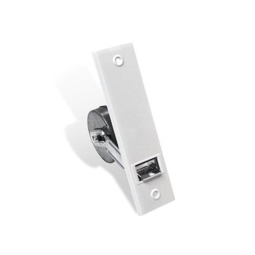 JAROLIFT Einlass-Gurtwickler inkl. weiße Kunststoff Abdeckplatte/Lochabstand: 160 mm