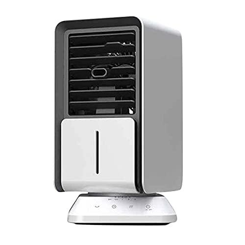 DKBE Acondicionador de Aire portátil, Ventilador de Aire Acondicionado de refrigeración por Aire en casa, Mini refrigerador de Aire Personal, con 3 velocidades