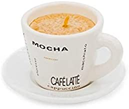 شمعة على شكل كوب قهوة من ميبرو مناسبة للغرفة والمقاهي MIBRU Coffee cup candle is suitable for room and coffee shop