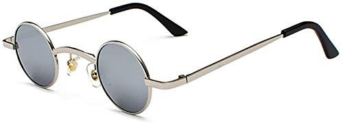 Preisvergleich Produktbild SFHTFTRGJRYJ Neue Mode Unisex Retro Style Klassische Mode Living Sonnenbrille Für Herren Und Frauen Uv 400 Schutz Punk Kleine Runde Gläser (Color : C11,  Size : Size)