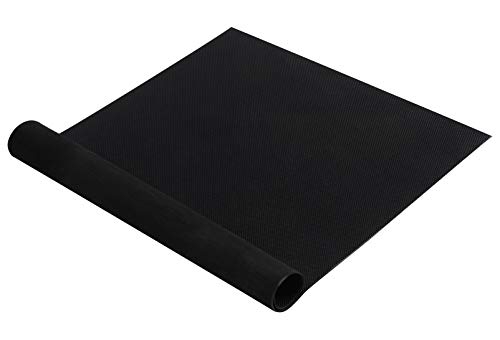 Shoe Sole Repair Rubber Soling Sheet, Non-Slip Shoe Pads Replacement for Bottom of Shoes (Black)