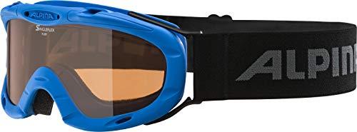 ALPINA RUBY S Skibrille, Kinder, blue, one size