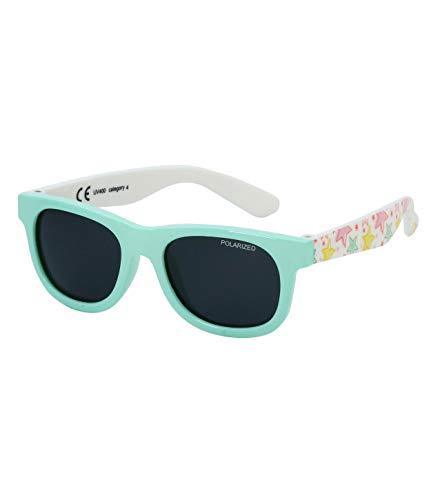 Kiddus Baby Sonnenbrille POLARISIERT Linsen für Jungen Mädchen. Ab 8 Monaten. Mit flexiblen Beinen. UV400 100% UVA- und UVB-Schutz. Sicher, komfortabel und stoßfest. LITTLE KIDS (27 Sterne)