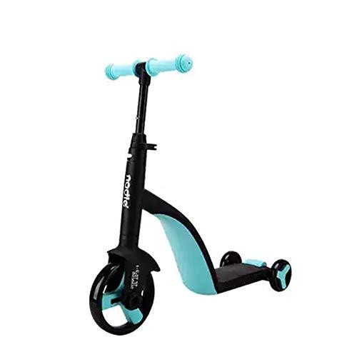 Giow Scooter para Niños, Equitación Y Deslizamiento, Altura Regulable, Chasis Reforzado