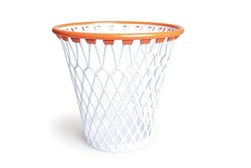 Excelsa Basket Cestino Canestro Gettacarta, Polipropilene, Bianco