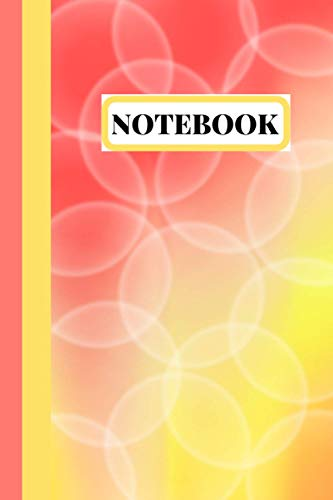 Notebook: Cute Gradient Overlapped Circle Design