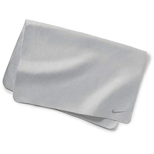 Nike Swim Towel - Asciugamano, unisex, per adulti, Unisex - Adulto, NESS8165, Grigio (Wolf Grey), Taglia unica