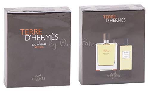 Hermes - TERRE d'Hermes Eau Intense Vetiver Set - 100ml EDP + 80ml Shower Gel