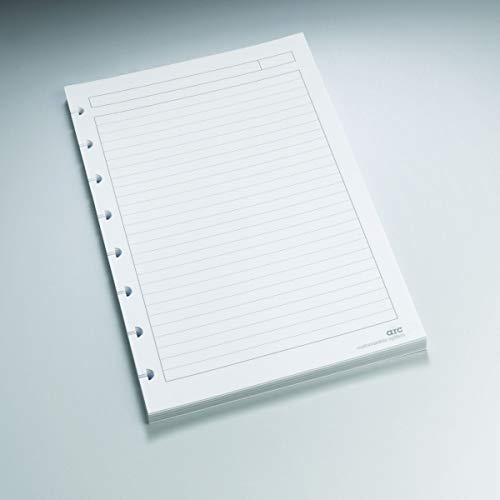 Staples? Arc Notebook Filler Paper, Junior-sized, Narrow-Ruled, White, 50 Sheets