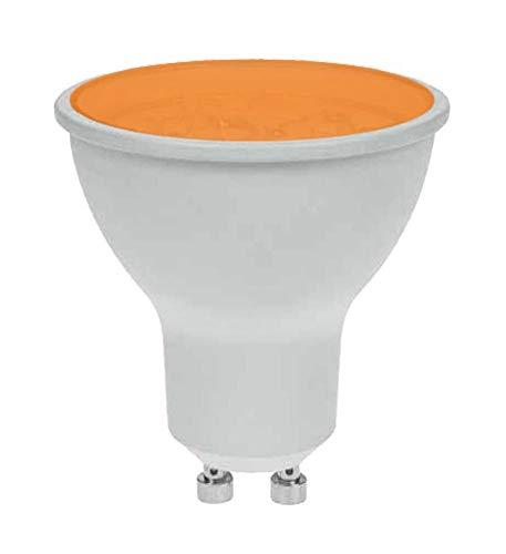 Pro-Lite 7W GU10LED-Leuchtmittel, farbig, Twistlock, nicht dimmbar, Orange/Bernstein