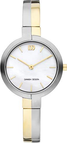 Danish Design Damen Analog Quarz Uhr mit Titan Armband DZ120724