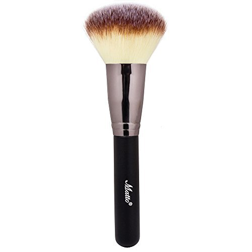 Matto Powder Mineral Brush  Makeup Brush for Large Coverage Mineral Powder Foundation Blending Buffing 1 Piece